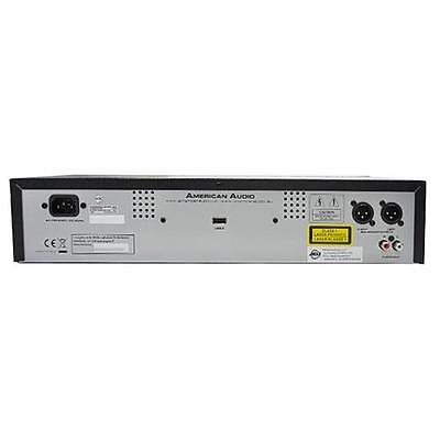 American Audio Ucd100 Mkii Lettore Cd Usb Mp3 Montabile A Rack