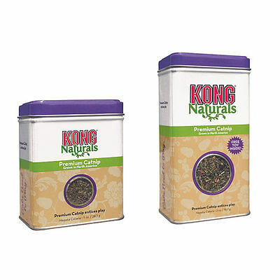 KONG NATURALS PREMIUM CATNIP High Quality North American Grown Minimal Seed/Stem