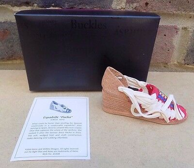 """JUST THE RIGHT SHOE - Espadrille """"Pacha"""""""