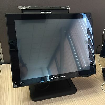 Point of Sale (POS) Touch Screen Computer with Rear Customer Display ce cf