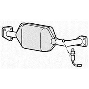 BM90967H Catalytic Converter MG TF 1.8i 16v 1//02-12//05