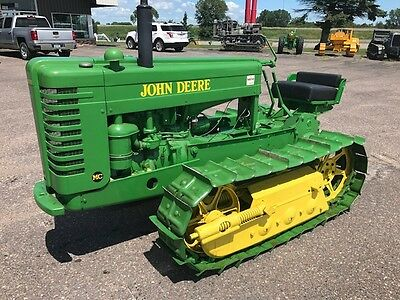 John Deere Mc Crawler Antique Collectable No Dozer Worldwide Shipping