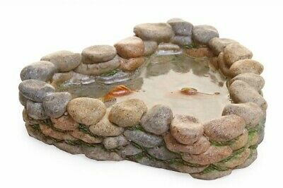 My Fairy Gardens Mini - Stone Koi Pond - Supplies Accessories