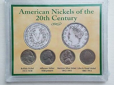 American Nickels Of The 20th Century Coin Set