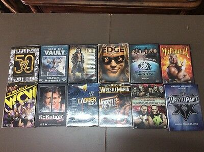 Lot Of 12 WWE DVDs