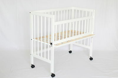 Babybay, bedside crib, baby co-sleeper in white