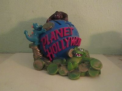 Planet Hollywood advertising coin bank