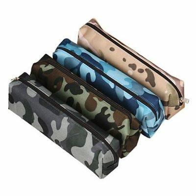 Delicate Camouflage Pencil Case School Stationery Pen Bag Cosmetic Makeup Bag