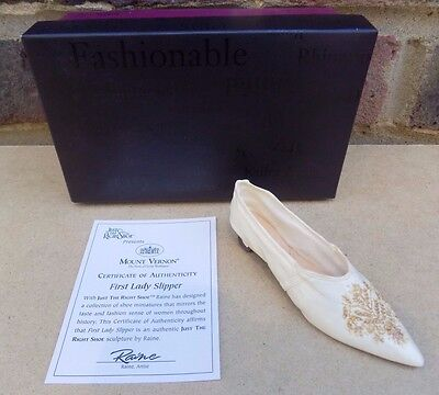 JUST THE RIGHT SHOE - First Lady Slipper
