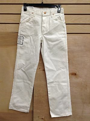 Wrangler ProRodeo 4H & FFA Kids' White Denim Jeans 14R