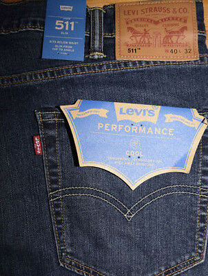Levi's 511 Slim Fit  Jeans COOL & DRY Breathable Technology