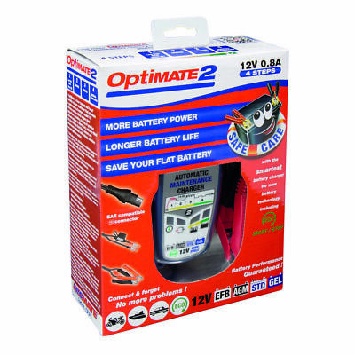 Optimate 2 Battery Charger UK Supplier & Warranty (NEW)