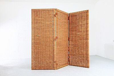 PARAVENT / Folding Screen by S.Muggenthaler 1960s Raumteiler 50er 60er