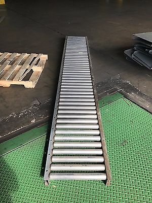 "21"" Conveyor 18"" Rollers - sold by the foot in 10 foot sections"