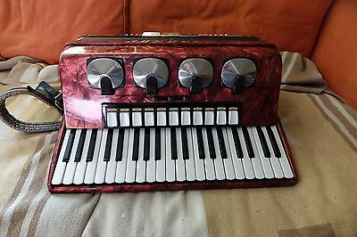 Delicia Choral iv accordion 120 fully working(Professionally checked)LMMH reeds