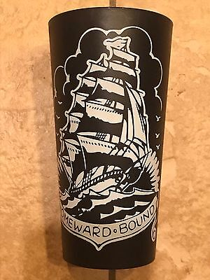 Sailor Jerry Spiced Rum Black Plastic Ship Cup