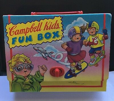 Campbell Soup Kids Fun Box 4 Books Set 1994