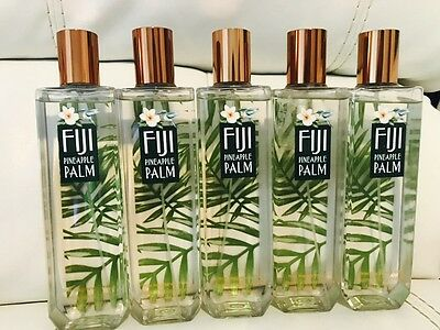 5 Bath & Body Works Fiji Pineapple Palm  body mist spray 8.4 Oz Full Size