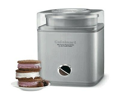 Cuisinart Deluxe Ice Cream Maker Machine, Large 2L Bowl, ICE30BCU