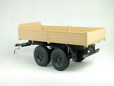 1/10 CROSS 2-axis mobile trailer  Military Army Truck