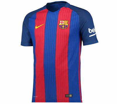 Nike FC Barcelona Home Authentic AeroSwift Players Men's Size XXL Soccer Jersey