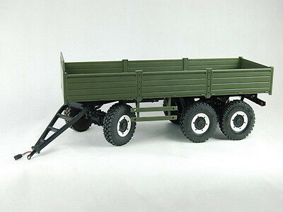 1/10 CROSS 3-axis mobile trailer  Military Army Truck
