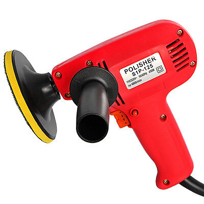 "New 5"" Electric Car Polisher Detail Waxer Buffer Sander Variable Speed Boat Home"