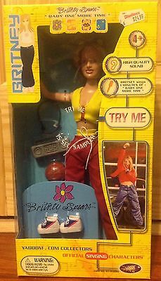 Britney Spears  Sings Baby One More Time Doll Nib Excellent Condition Awesome