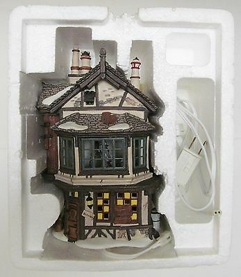 Dept 56 Dickens Village Christmas Ebenezer Scrooge's House Animated Collectible