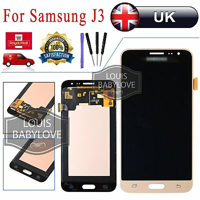For Samsung Galaxy J3 LCD Display 2016 SM-J320FN Touch Screen Digitizer Gold UK
