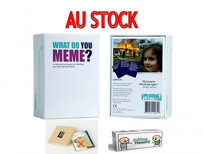 What Do You Meme?Family Fun Card Game Core Game Basic Main game Starter Pack AU