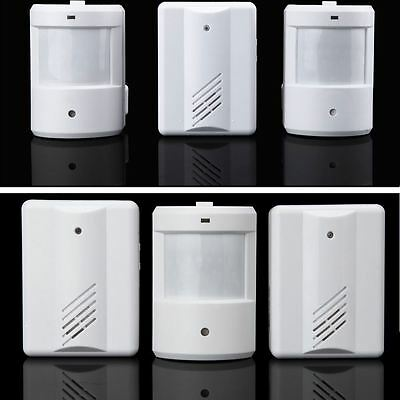 Wireless PIR Door Bell Entry Sensor Doorbell Infrared Motion Shop Alarm