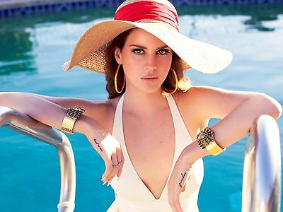 Lana Del Rey Poster (1) - Different Sizes - Free Uk Postage