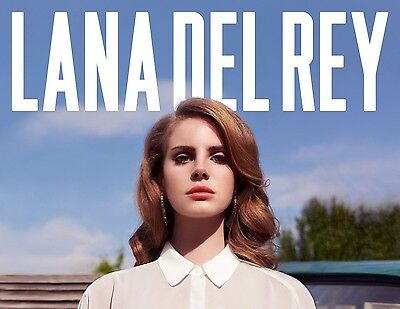 Lana Del Rey Poster (3) - Different Sizes - Free Uk Postage