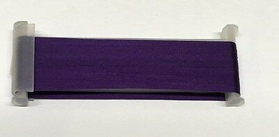 YLI  Silk Ribbon 4mm x 3m - Shade 085 - Dark Iris
