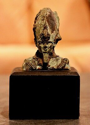 Rare and authentic ancient Egyptian Osiris statue