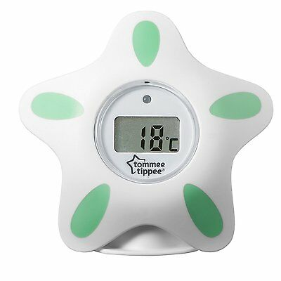 Tommee Tippee Closer To Nature Digital Bath And Room Thermometer White 423030