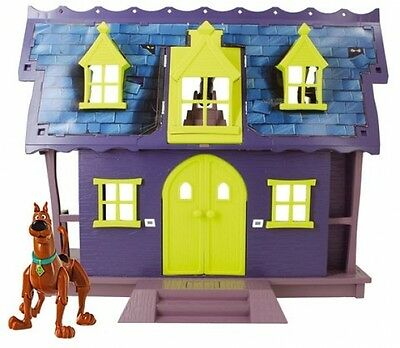 Scooby Doo Mystery Mansion Playset Action Figure Toys