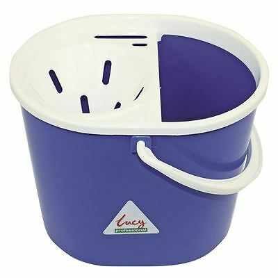 Lucy 15 Litre Blue Mop Bucket L1405292, Ideal for general use [SYR03103]