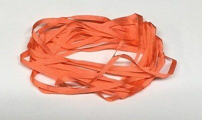 YLI Silk Ribbon 2mm x 3m - Shade 043 - Red Salmon