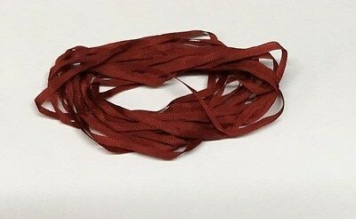 YLI Silk Ribbon 2mm x 3m - Shade 050 - Maroon
