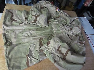 DESERT CAMO Cold Weather Field Class 4 Jacket field Coat Hood Medium M R men M65