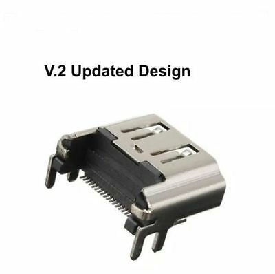 NEW DESIGN! UPDATED Sony PlayStation 4 HDMI Port Socket Connector Ps4 Console