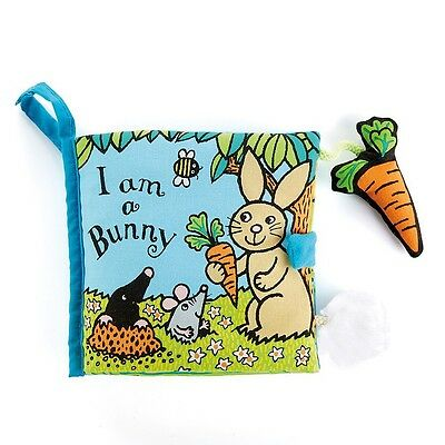 Jellycat I Am A Bunny Baby Cloth Book - Anne Wilkinson