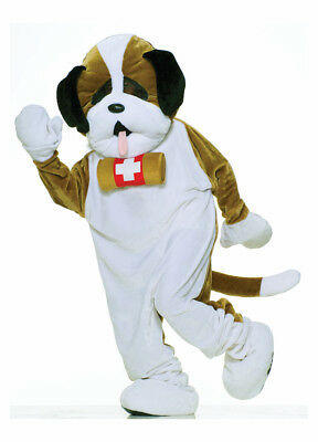 Deluxe Puppy Dog Mascot Adult Costume Standard