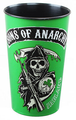 Sons of Anarchy Ireland Reaper 32oz Green Stadium Cup