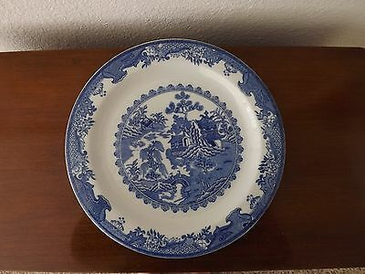 """Blue Willow-Vintage Plate 11""""-Albert Pick Barth Company"""