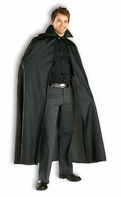 "56"" Black Adult Costume Cape"