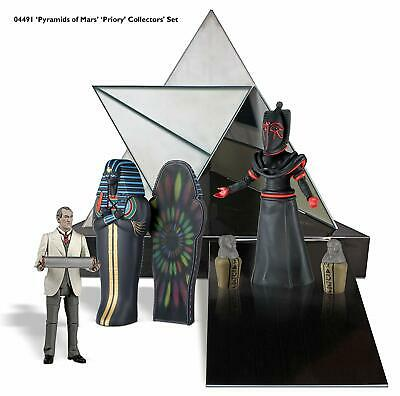 """Doctor Who """"Pyramids of Mars"""" 5"""" Action Figure Box Set"""