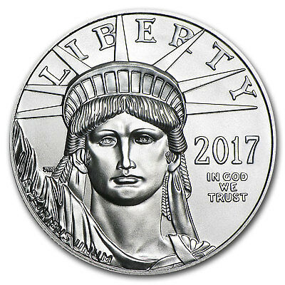2017 1 oz Platinum American Eagle Coin Brilliant Uncirculated BU